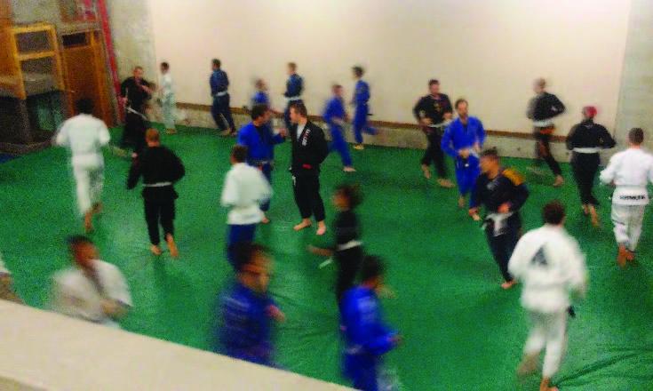 Jiujitsu Training Exercises