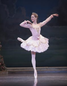 Lesley Rausch as the Princess Aurora